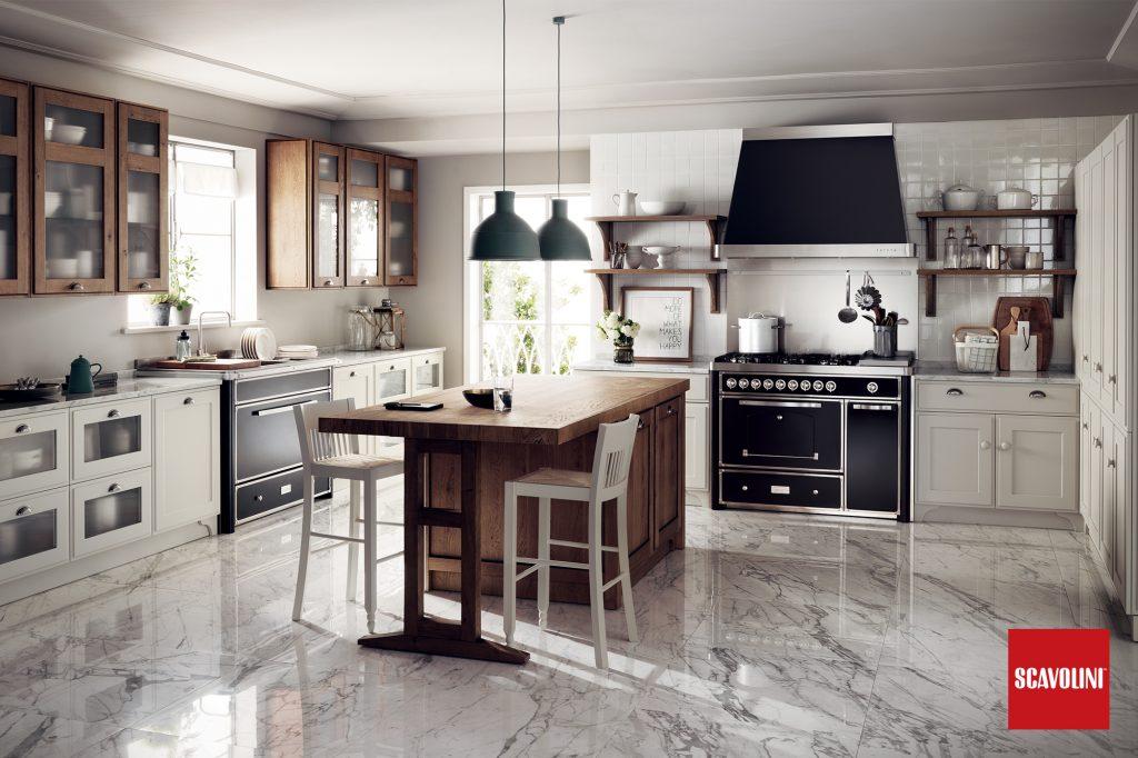 vitaitaliana retro design italian kitchen - Scavolini Design by Vuesse