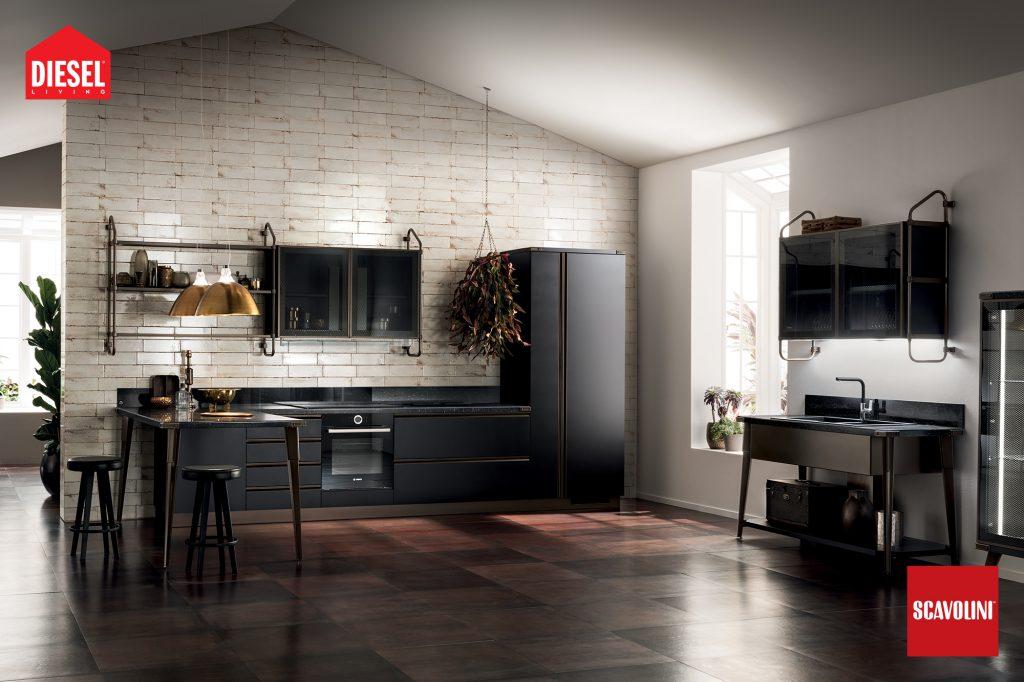 vitaitaliana scavolini designer kitchen - Diesel design
