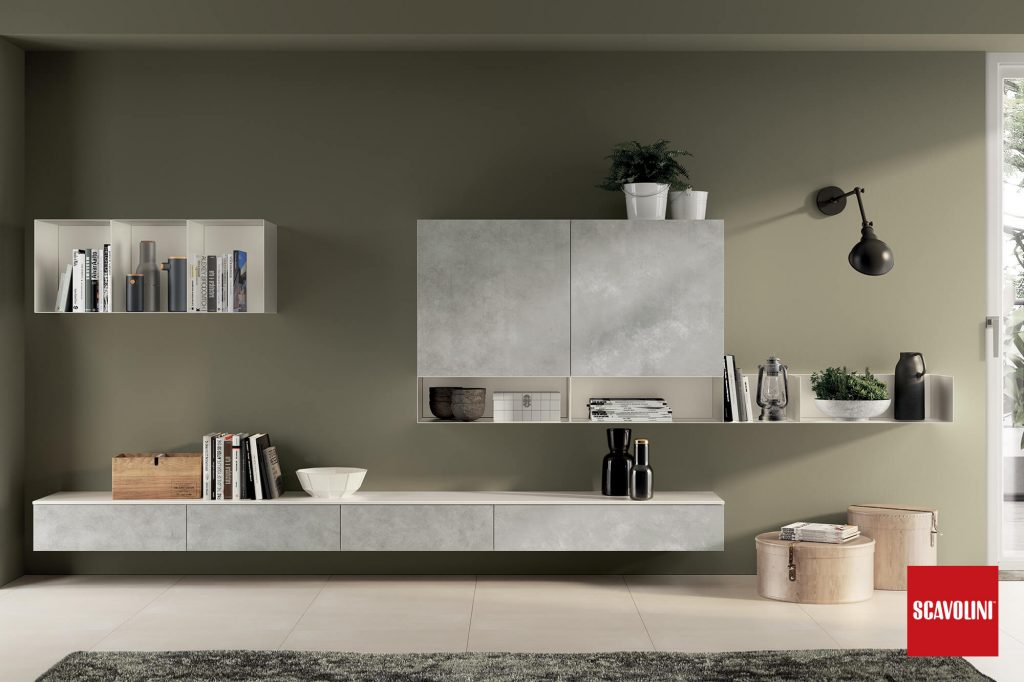 vitaitaliana modern living furniture by scavolini