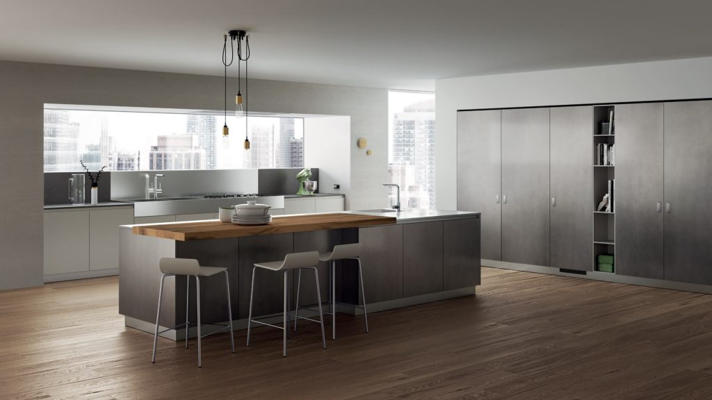 Vitaitaliana designer kitchen - foodshelf - Scavolini showroom Ireland