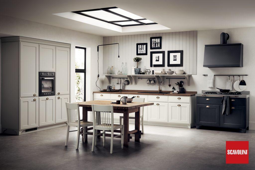 vitaitaliana retro italian kitchen - Scavolini Design by Vuesse
