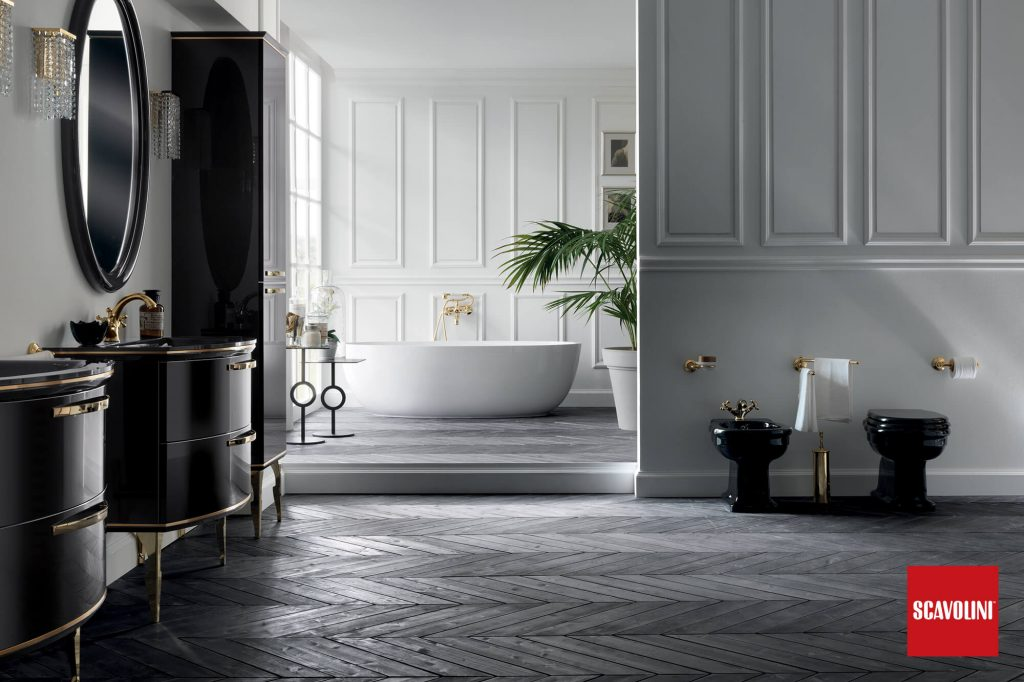 GIANNI PARESCHI - vitaitaliana designer bathroom by scavolini