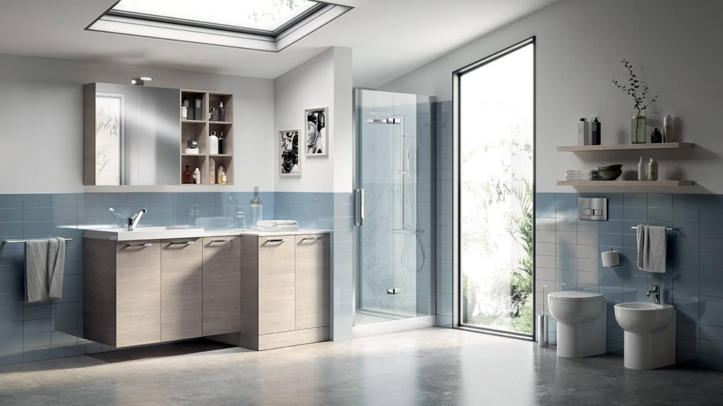 vitaitaliana scavolini contract bathroom - showroom ireland