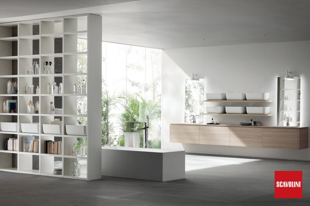 vitaitaliana modern bathroom bright - scavolini
