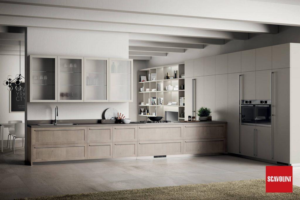 Vitaitaliana luxury italian kitchen - Scavolini Carattere