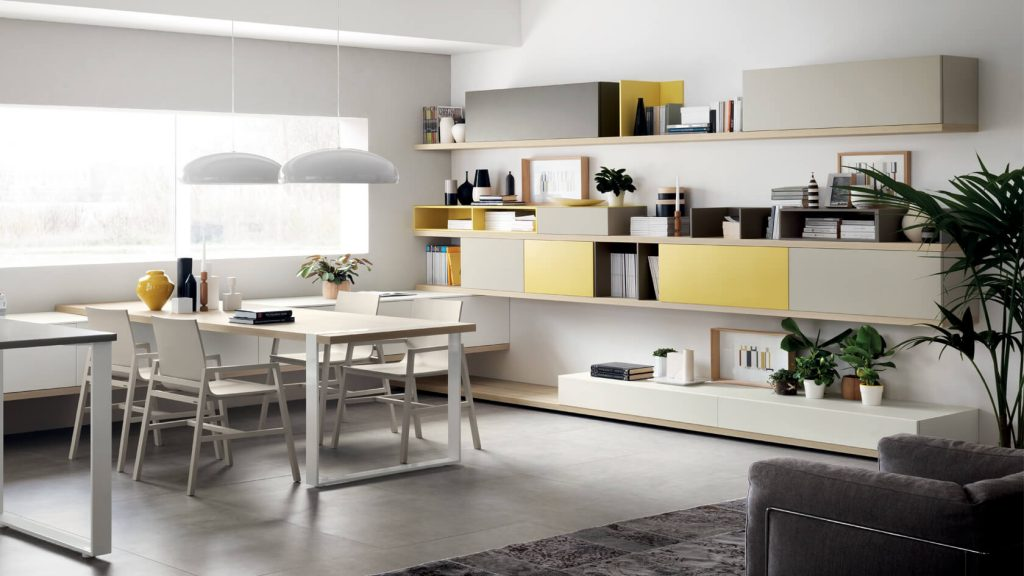 vitaitaliana designer scavolini living - FOODSHELF KITCHEN