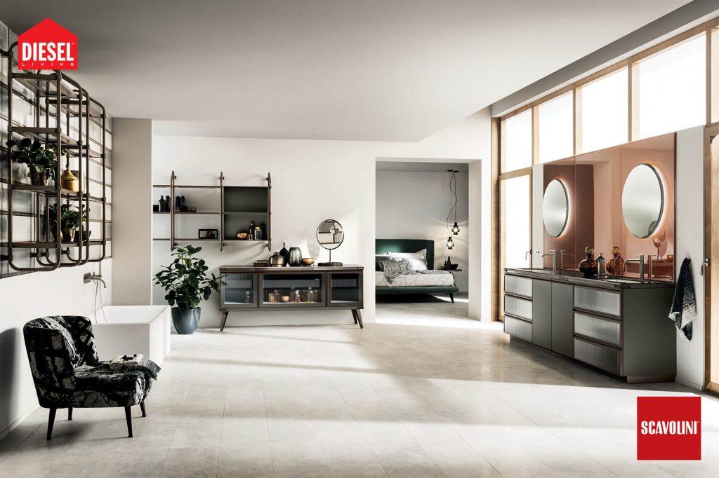 vitaitaliana designer bathroom by scavolini - showroom ireland