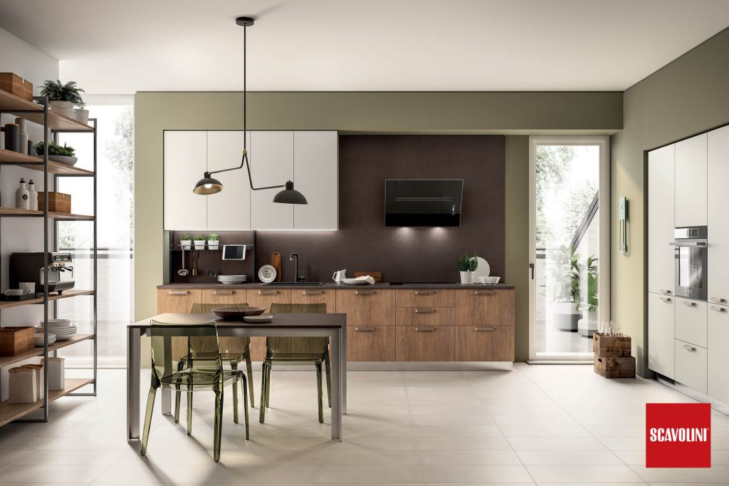 Vitaitaliana Italian kitchen - Scavolini Sax collection - Ireland Showroom