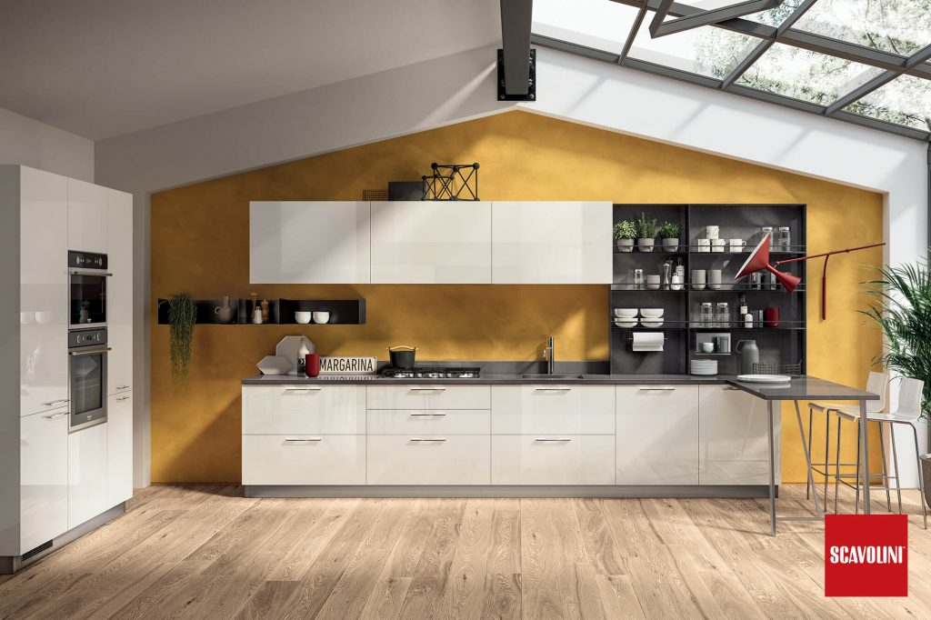 Vitaitaliana Italian kitchen - Scavolini By Vuesse - Ireland Showroom