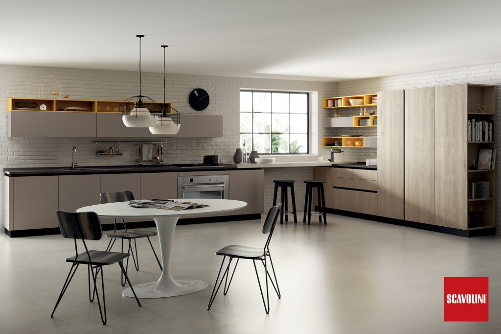vitaitaliana luxury italian kitchen - Scavolini Vuesse