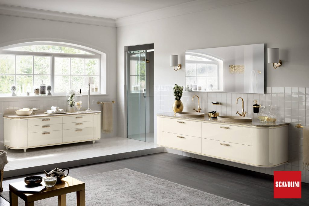 MAGNIFICA - vitaitaliana designer bathroom by scavolini