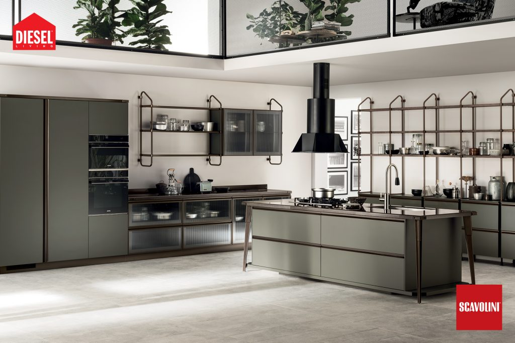 vitaitaliana scavolini designer kitchen - Diesel design - showroom Ireland