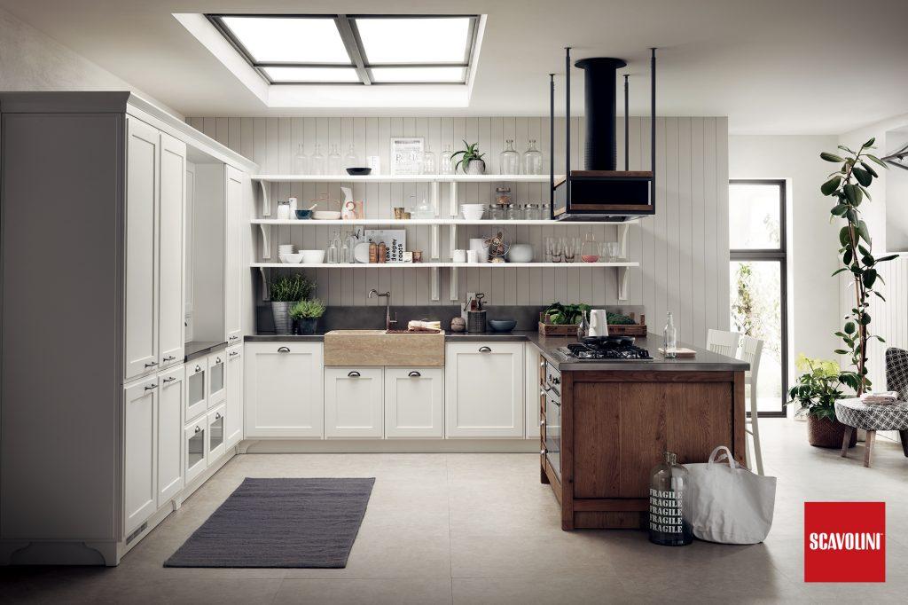 vitaitaliana modern retro design italian kitchen - Scavolini