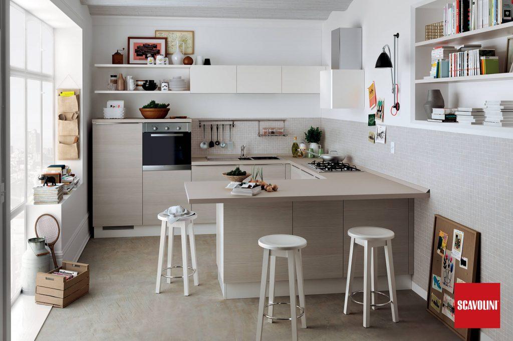 vitaitaliana scavolini kitchen - contract kitchen - showroom design