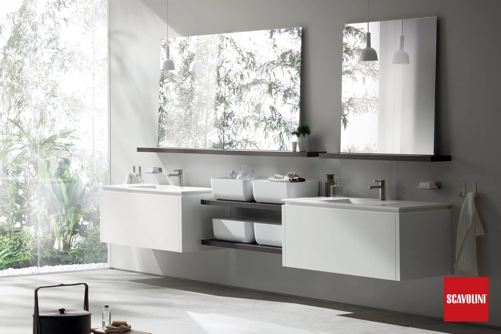 vitaitaliana modern bathroom - scavolini showroom ireland