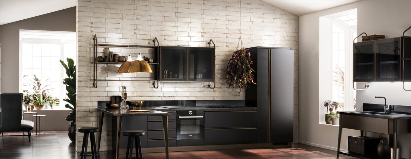Vitaitaliana luxury Italian kitchen by Scavolini - Showroom Ireland