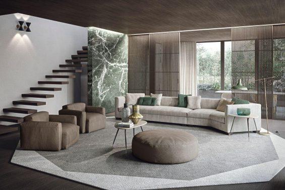 Vitaitaliana luxury scavolini living Tiberio collection