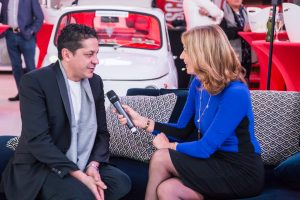 Interview of Michelin star chef at awards