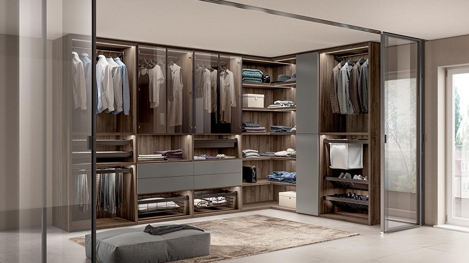luxury modern bedroom storage