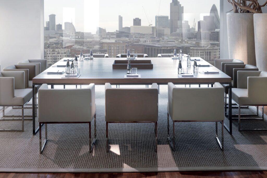luxury modern dining