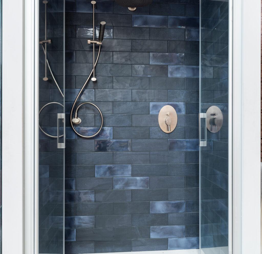 luxury modern shower