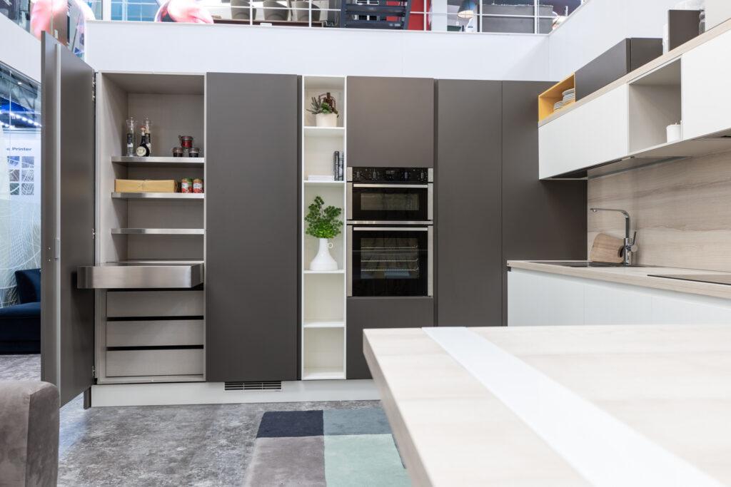 luxury modern kitchen storage