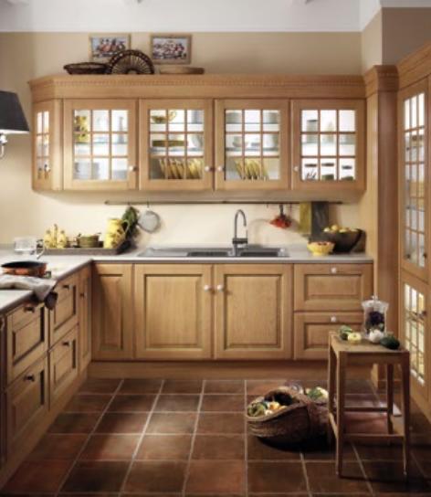 luxury wooden kitchen