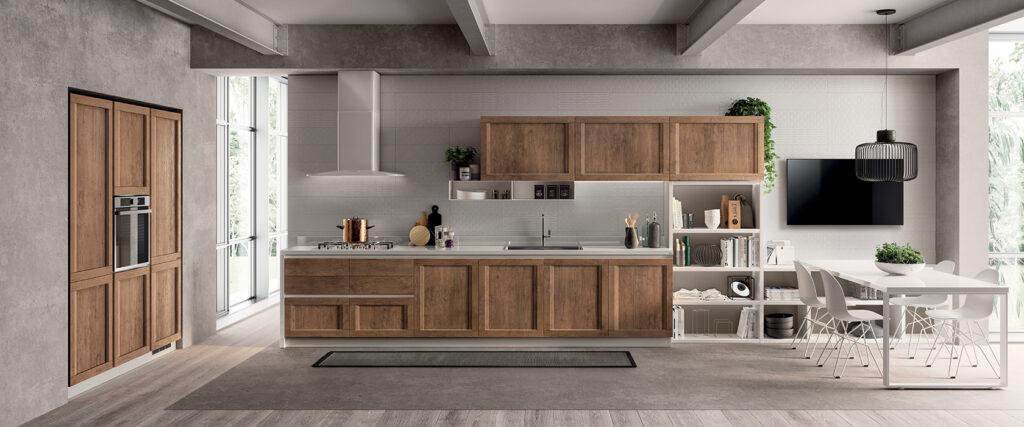 luxury modern wood kitchen