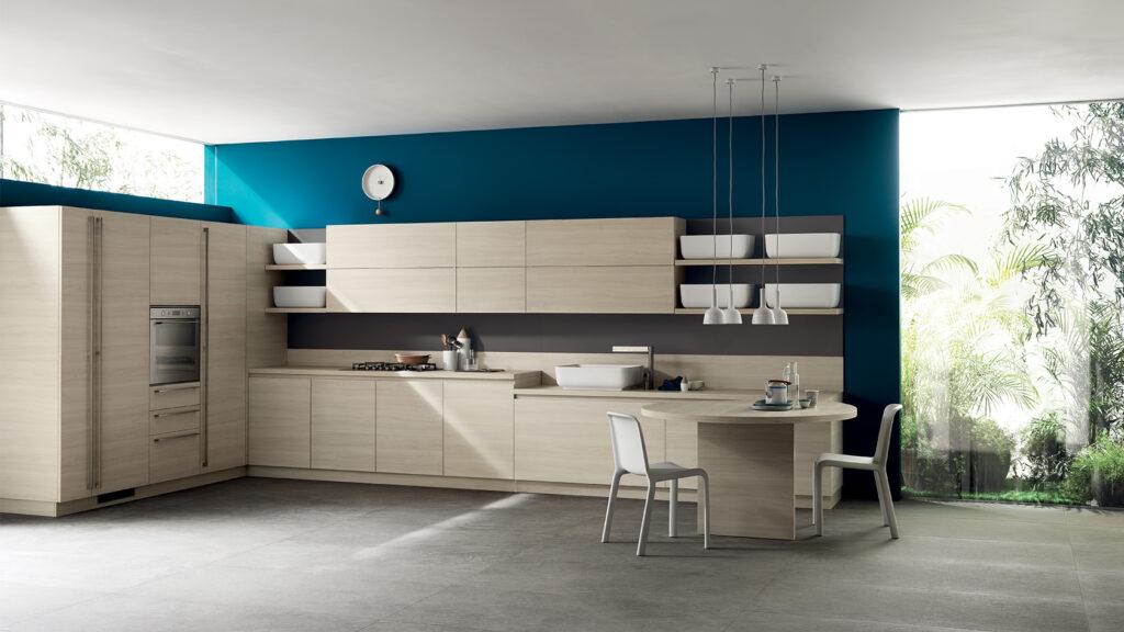 luxury modern kitchen and dining