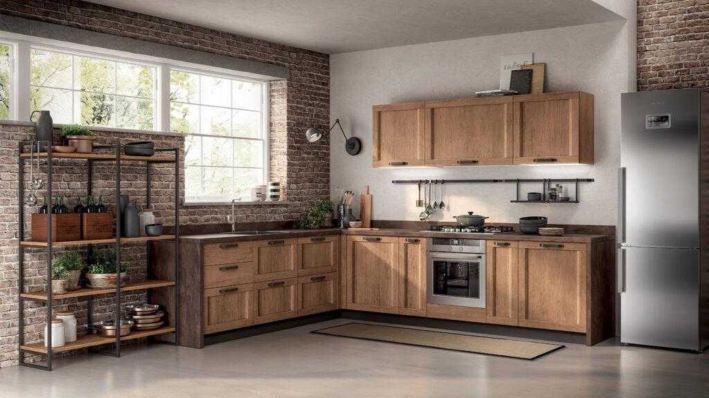 luxury modern kitchen wood