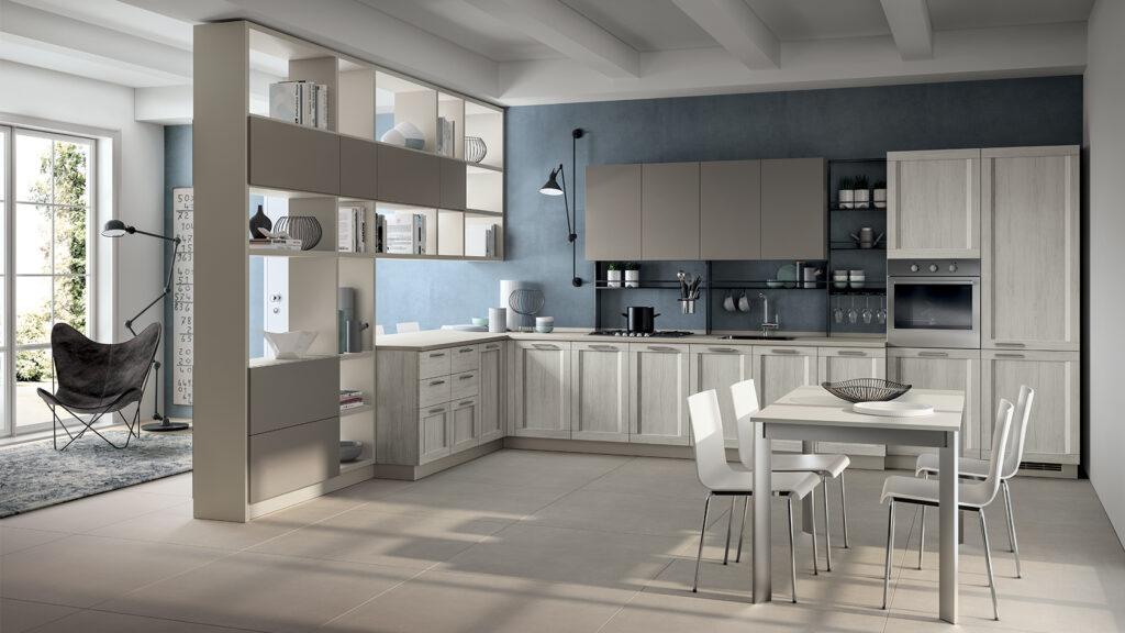 Luxury modern kitchen and storage