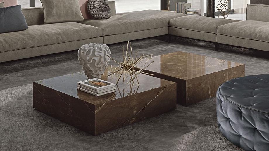luxury marble coffee table